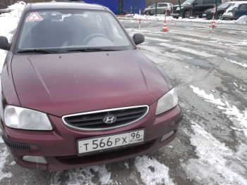 Учебный автомобиль Hyundai Accent / Категория В