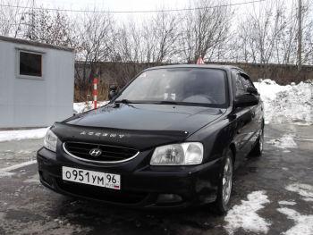 Учебный автомобиль Hyundai Accent / категория прав В