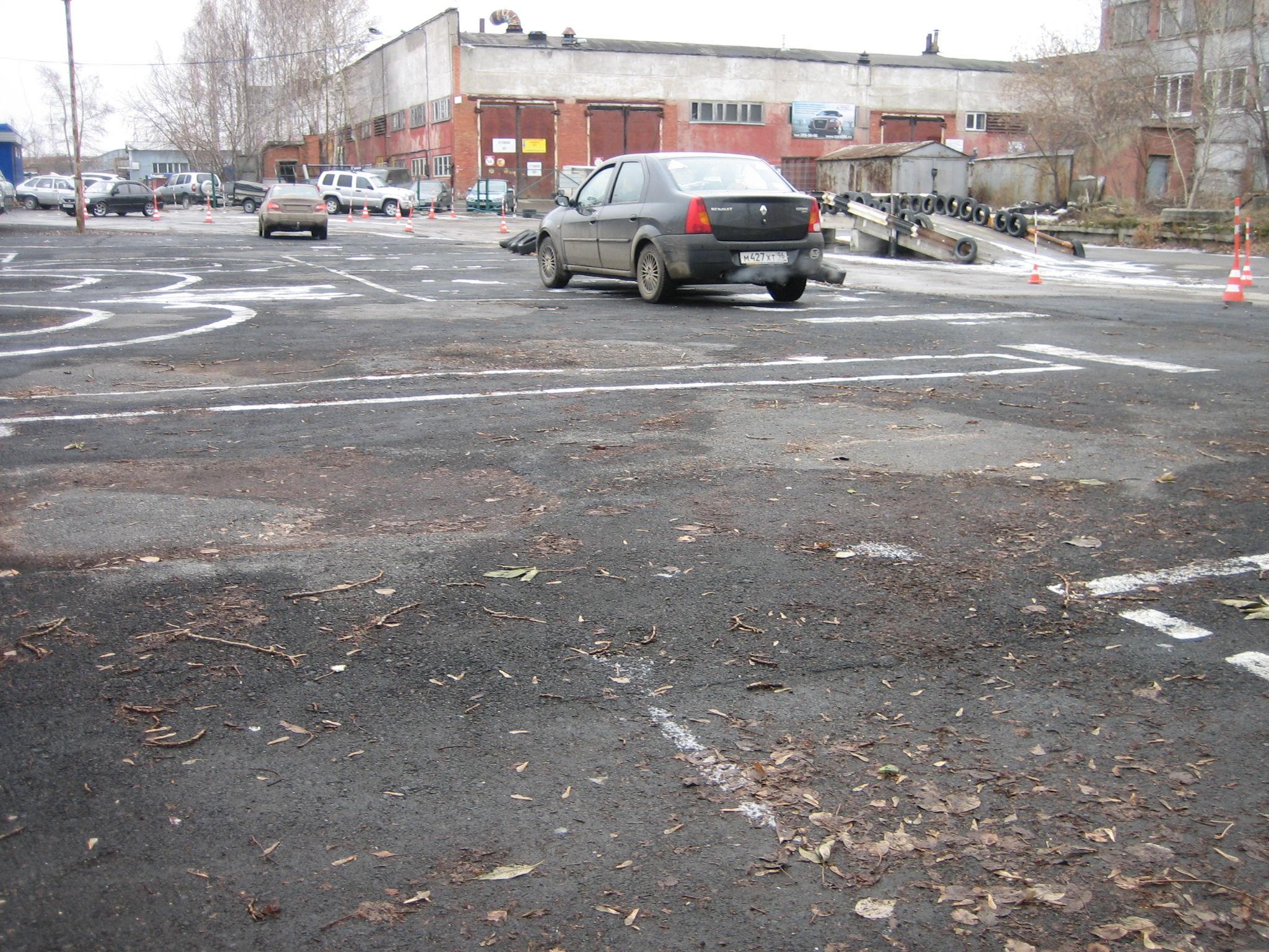 Учебная площадка автошколы, Кировский район, Екатеринбург