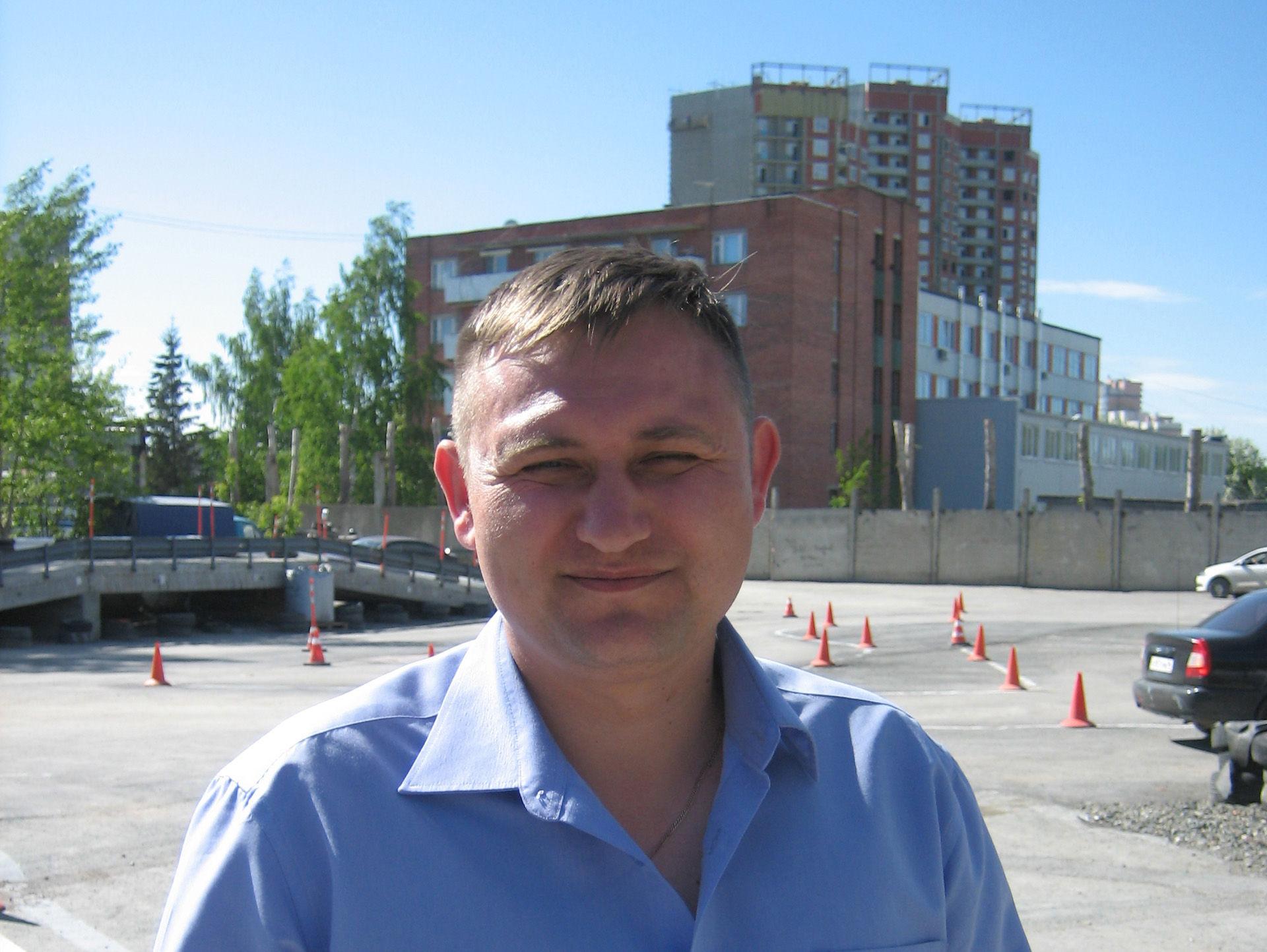 Инструктор по вождению автошколы Зачет в Екатеринбурге